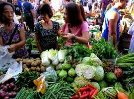 Local Market, Negros, the Philippines