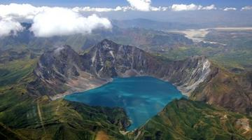 Mt Pinatubo, Luzon, the Philippines