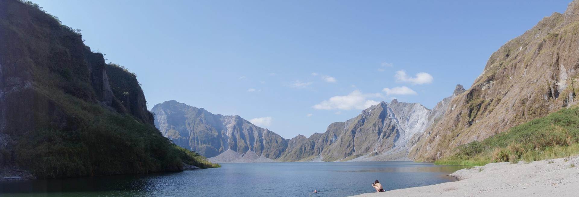 Crater of Mt. Pinatubo, Luzon, the Philippines