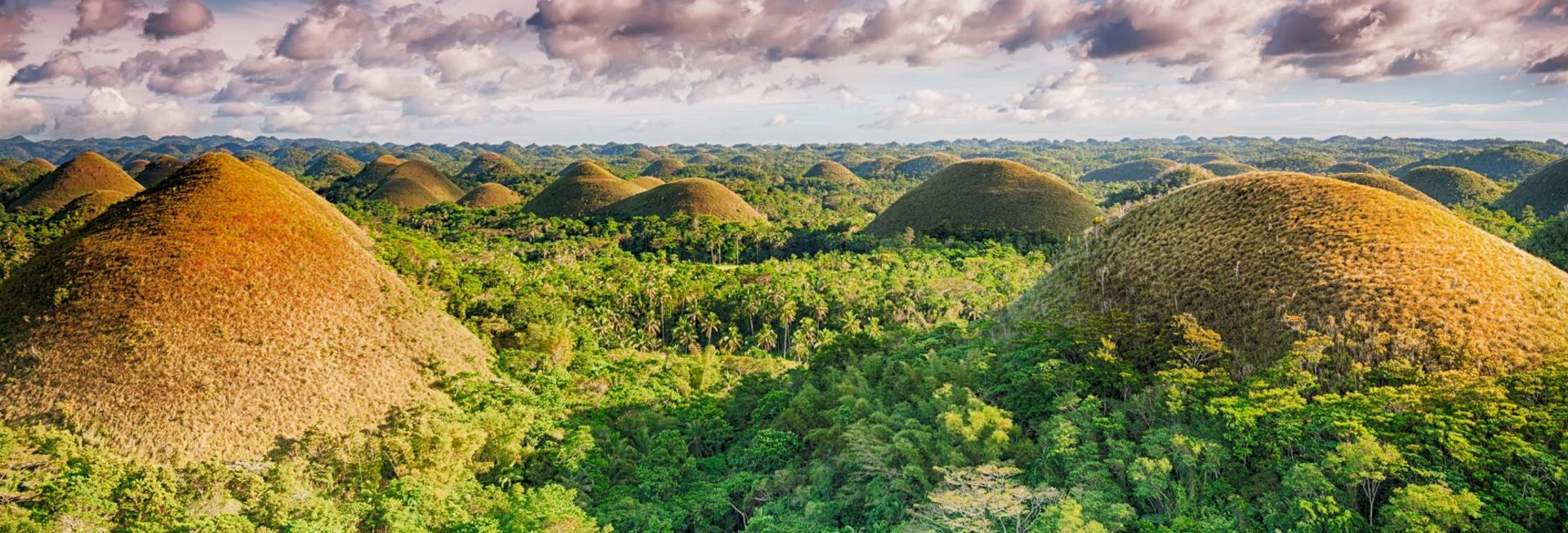 Chocolate Hills, Bohol, the Philippines