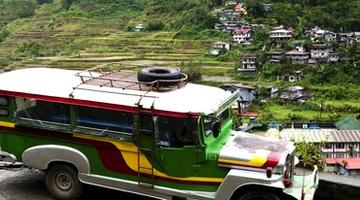 Jeepney, North Luzon, the Philippines