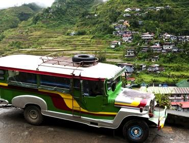 Driving to Banaue, North Luzon