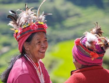 Ifugao tribal ladies, North Luzon