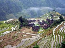 Jiabang Rice Terraces, Guizhou