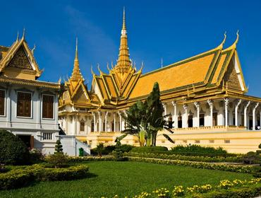 Grand Palace, Phnom Penh
