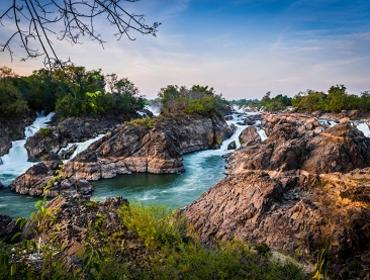 Khone Phapeng Waterfall, Laos