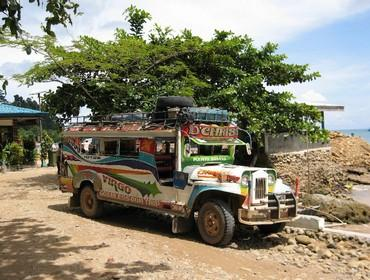 Jeepney in Palawan, the Philippines