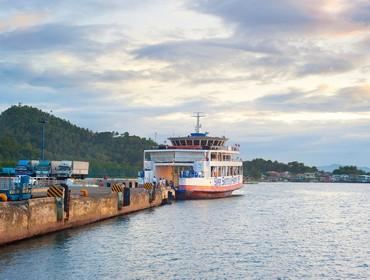 Ferry crossing, the Visayas, the Philippines