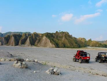 Crater, Mt. Pinatubo, the Philippines