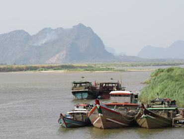 Thanlwin River, Hpa An