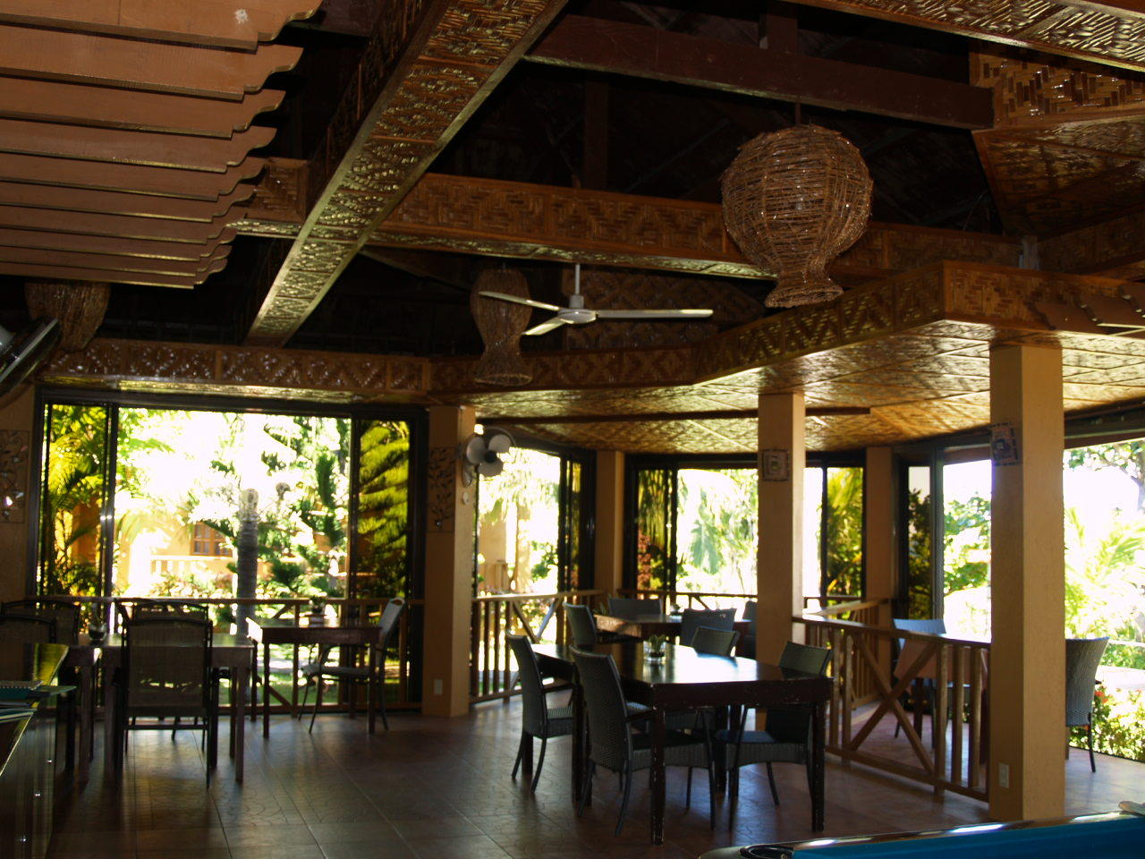 Restaurant, Anda White Beach Resort