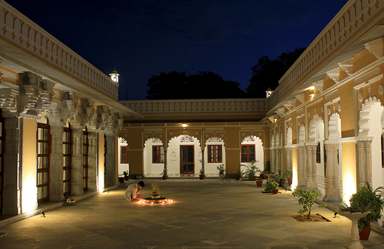 Courtyard, Dev Shree