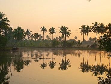Sunset, Vembanad Backwaters