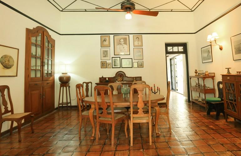 Dining area, Horathapola Coconut Estate