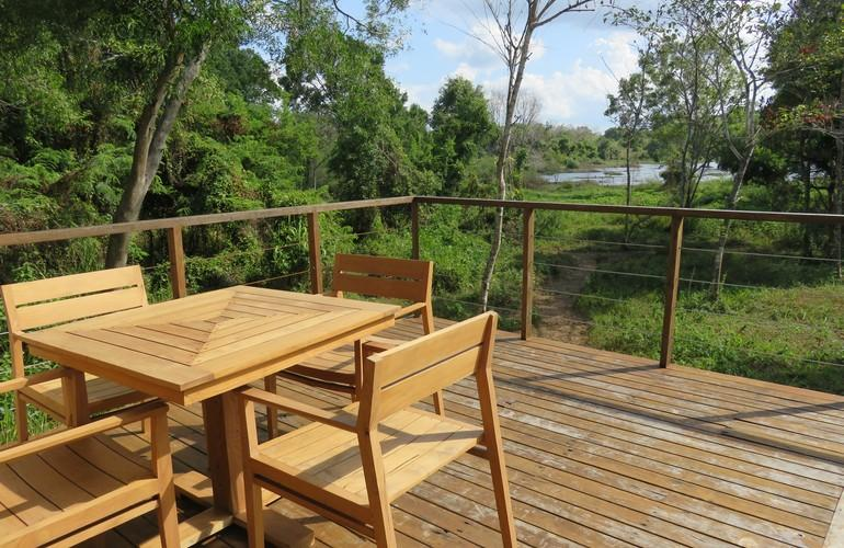 Terrace, Wild Grass Nature Resort