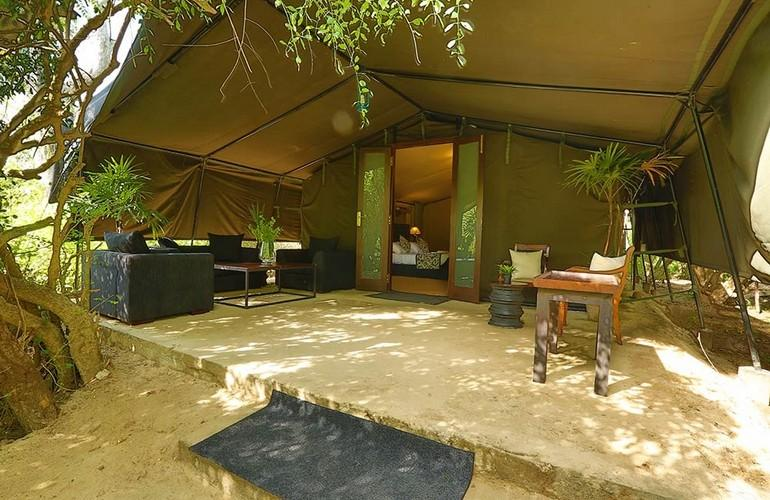 Luxury tent, Leopard Trails Safari Camp