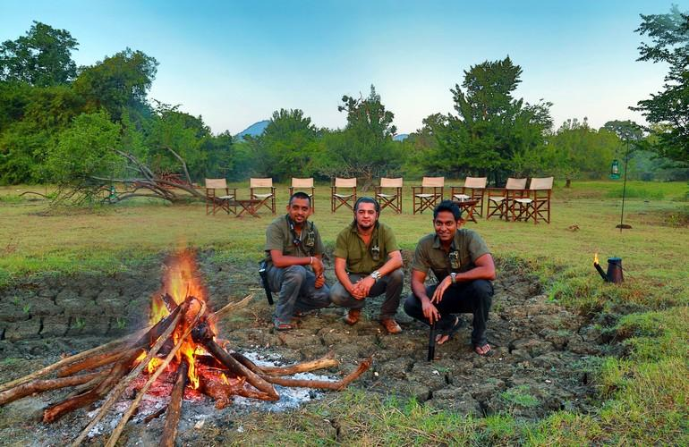Game rangers, Leopard Trails Safari Camp