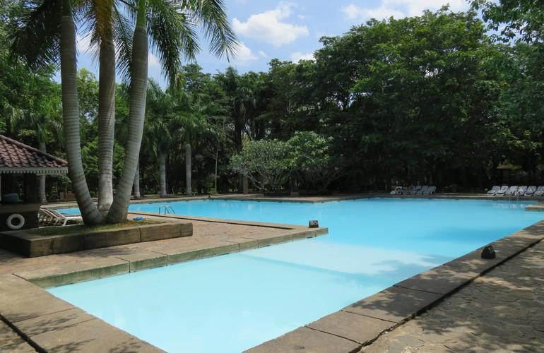 Swimming pool, Palm Garden Village Hotel