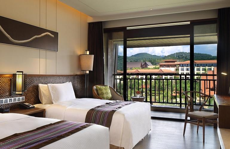 Twin Room, Crowne Plaza Resort Xishuangbanna