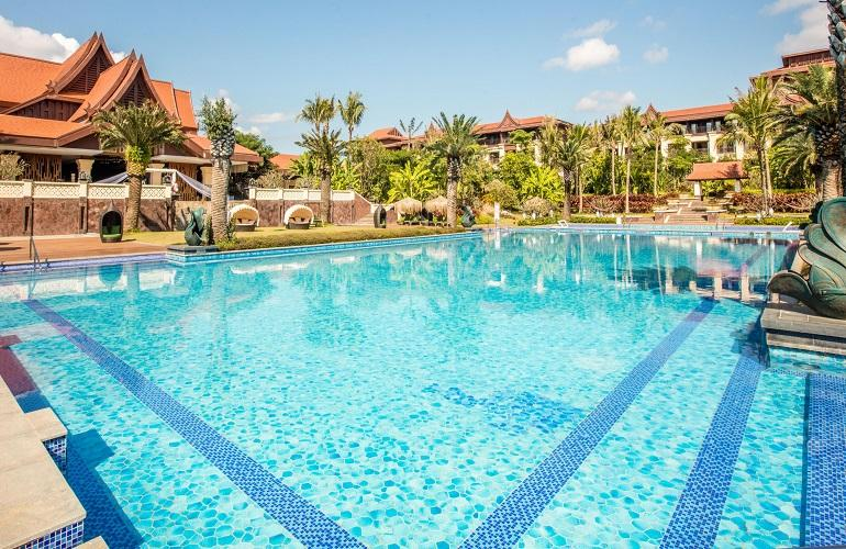 Swimming Pool, Crowne Plaza Resort Xishuangbanna