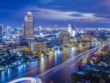City skyline, Bangkok