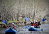 Kayaking on Tuul River
