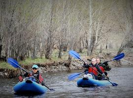 Kayaking Mongolia