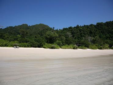 Typical beach, Mergui Archipelago