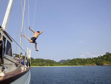 Checking for fish, Mergui Archipelago