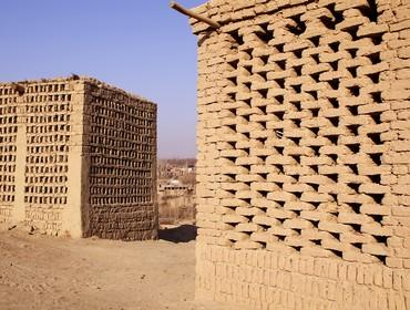 Grape drying houses, Turpan