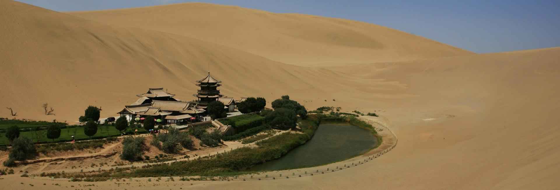 Crescent Lake, Dunhuang, Silk Road, China