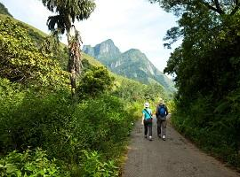 Trekking in Knuckles Mountain Range, Sri Lanka