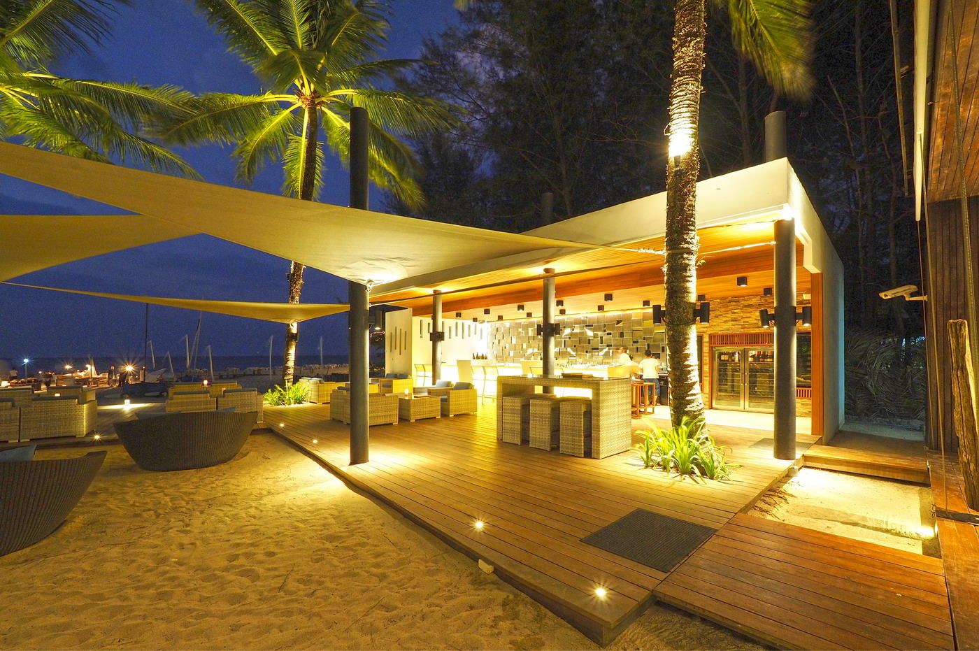 Beach Bar, The Sarojin