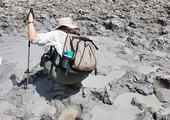 Visit an active mud volcano