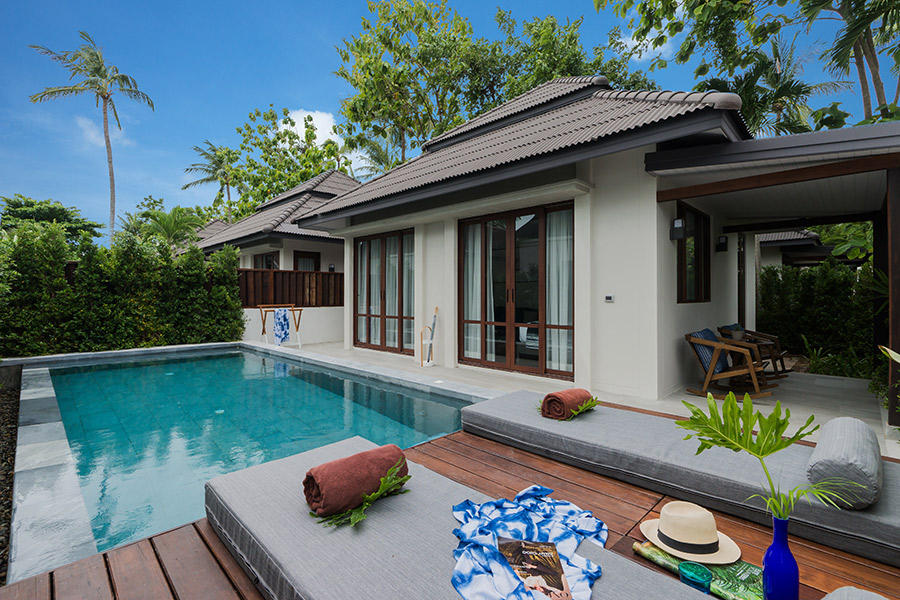 Sea Breeze Pool Villa, Peace Resort Samui