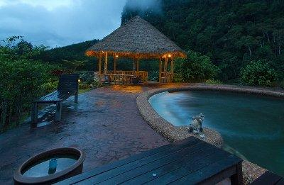 Pool, The Cliff & River Jungle Resort