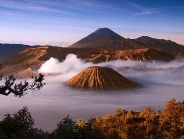 Sunrise at Mount Bromo