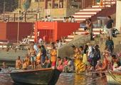 Dawn boat ride on the Ganges