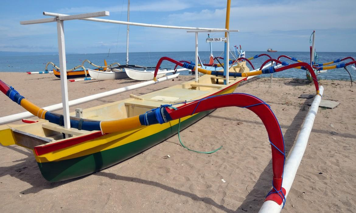 Fishing boats, Sanur