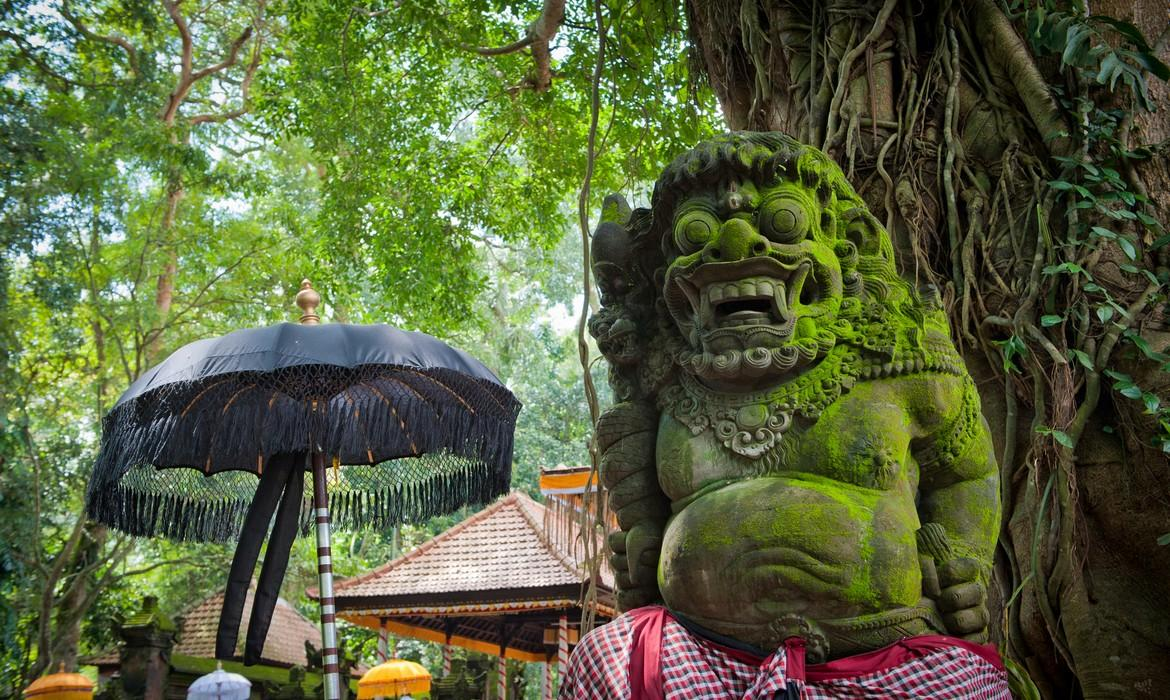 Statue of Balinese demon, Ubud