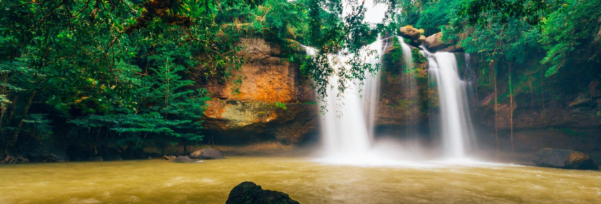 Haew Suwat Waterfall, Khao Yai National Park