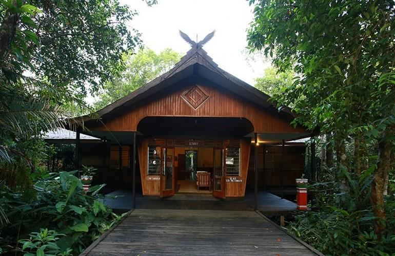 Entrance, Rimba Lodge