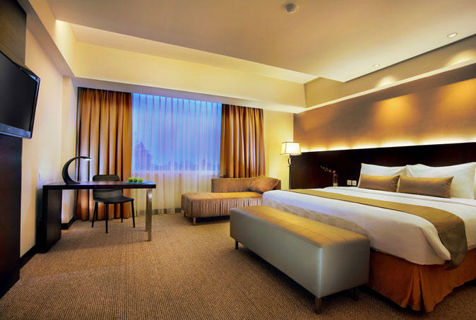 Deluxe room, Aston Makassar Hotel & Convention Center