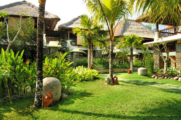 Front view, Kori Ubud Resort