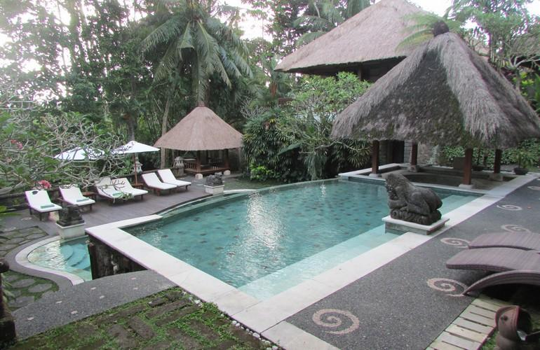 Swimming pool, Kori Ubud Resort