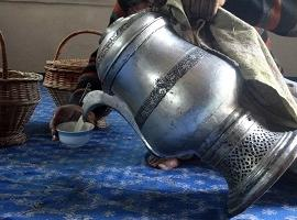 Jug of chai, India