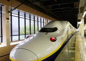 Travel by bullet train