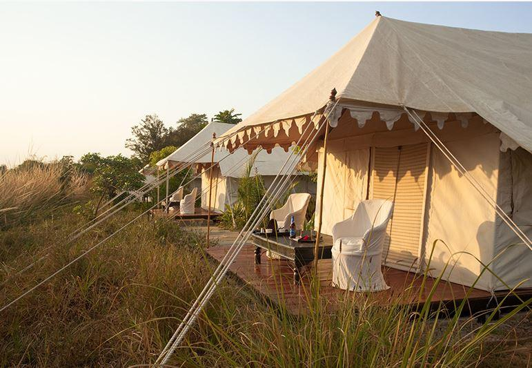 Tents, Khem Villas