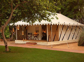 Tent, Sher Bagh, Ranthambore