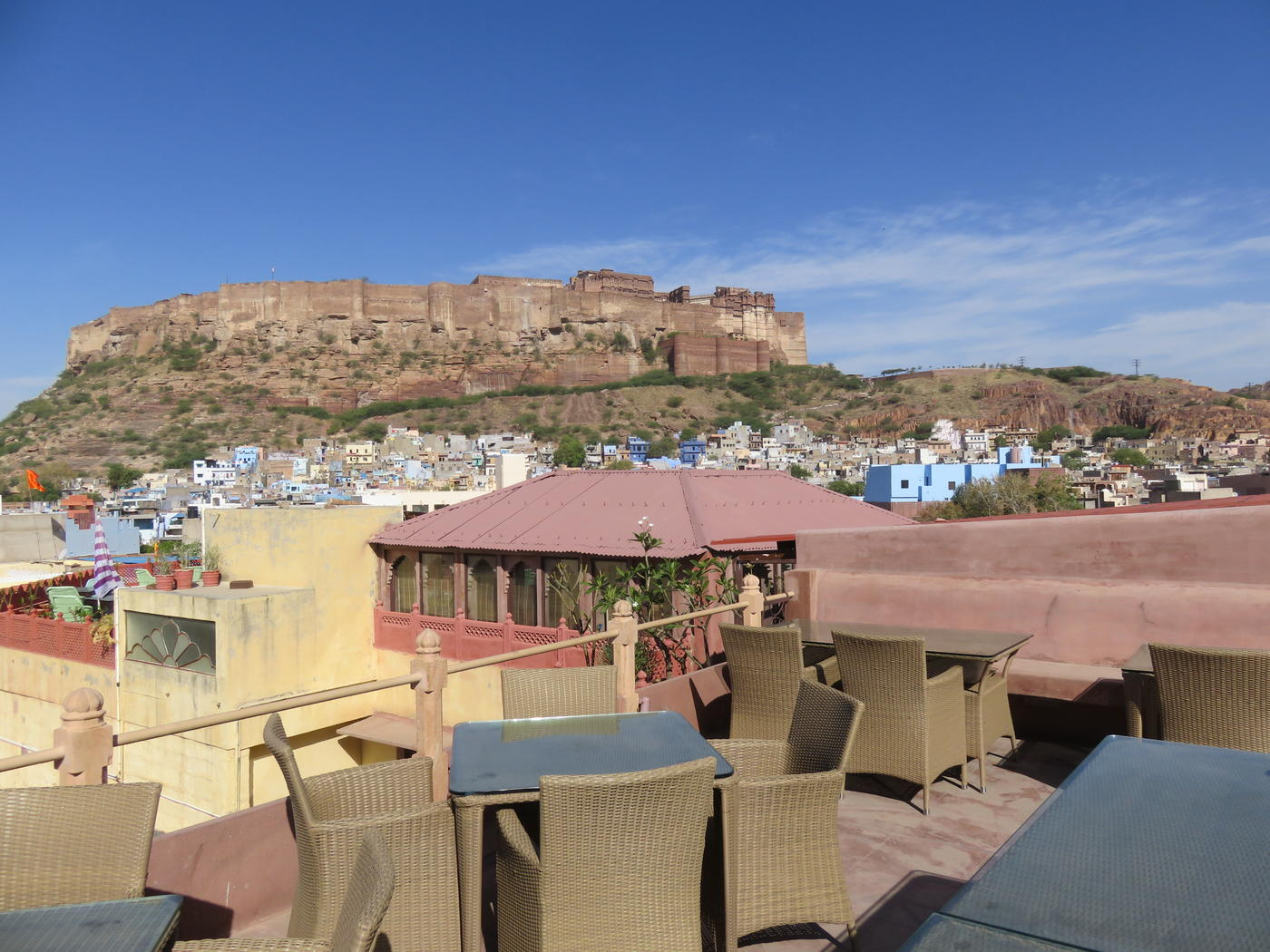 Restaurant View, Pal Haveli